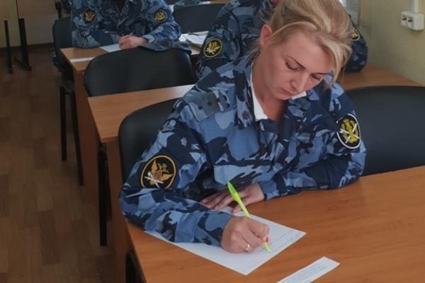 В УФСИН России по Московской области прошел II этап смотра-конкурса на лучшего начальника караула