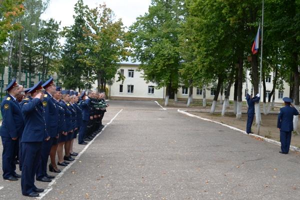 В учреждениях УФСИН России по Московской области прошли торжественные мероприятия, посвященные Дню государственного флага России