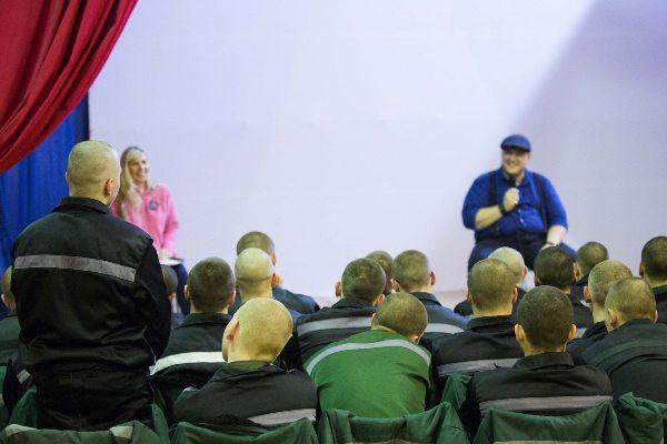 Воспитанникам Можайской ВК рассказали о профессии актера кино