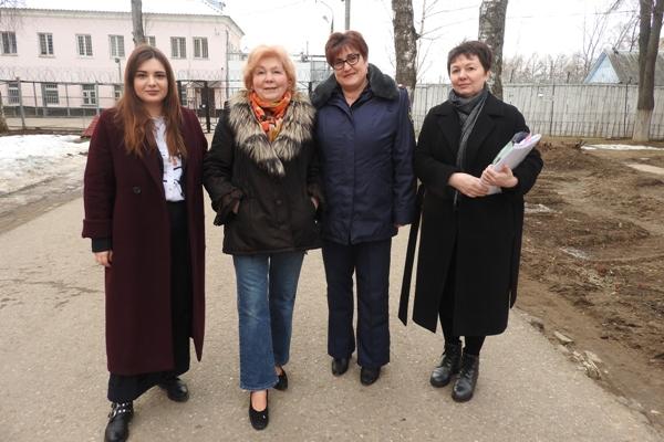Мария Каннабих и представители социально-реабилитационного центра «Аврора» посетили ИК-5 УФСИН России по Московской области