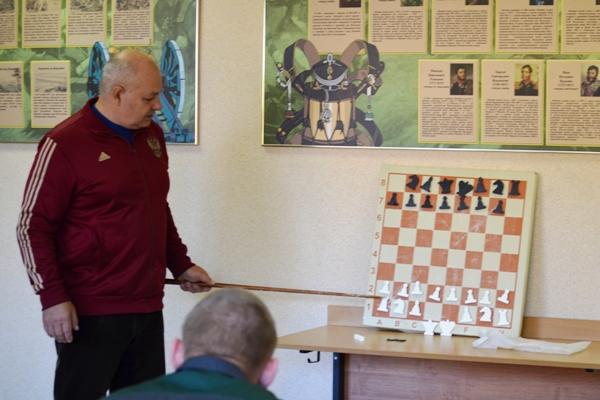 Для воспитанников Можайской ВК провели мастер-класс по обучению игре в шахматы