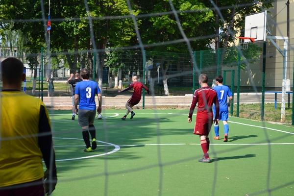 В Можайской воспитательной колонии прошел товарищеский матч по мини-футболу