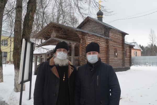 Священнослужители посетили Можайскую воспитательную колонию