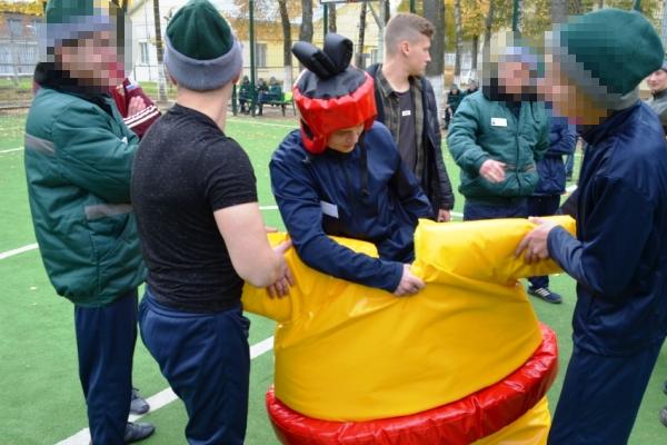 В Можайской ВК УФСИН России по Московской области прошел спортивный праздник