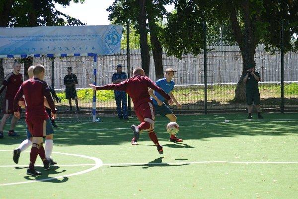 Товарищеский матч по мини-футболу прошел в Можайской воспитательной колонии