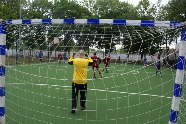 Воспитанники МВК сыграли в футбол с командой ДЮСШ г. Можайска