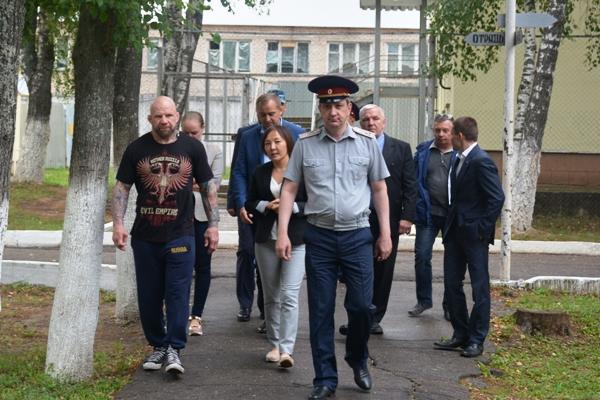Осужденные Можайской воспитательной колонии УФСИН России по Московской области приняли участие в спортивных соревнованиях