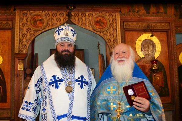 В храме при СИЗО-8 прошел престольный праздник в честь иконы Божией Матери «Утоли моя печали»