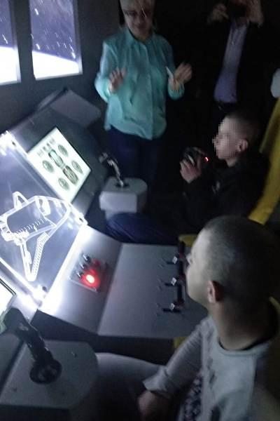 Воспитанники Можайской ВК побывали в музейном комплексе «Космонавтика и авиация»