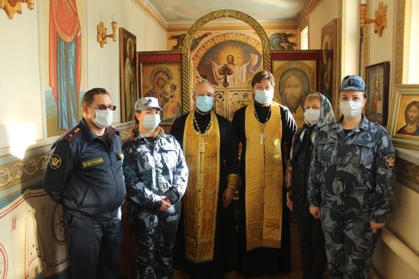 В рамках «Недели молитвы» состоялось богослужение в храме при СИЗО-1 УФСИН России по Московской области